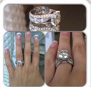 engagement ring ideas round diamonds engagement and With wedding band instead of engagement ring