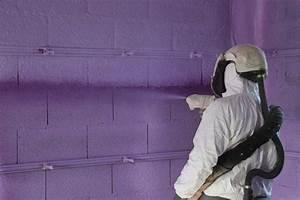 Isolation Mur Intérieur Polyuréthane : une projection de polyur thane mauve pour isoler les murs ~ Dailycaller-alerts.com Idées de Décoration