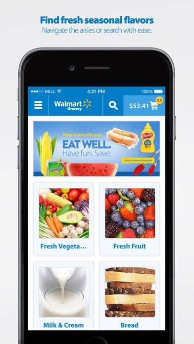 Walmart Grocery App Review  Balancing Motherhood