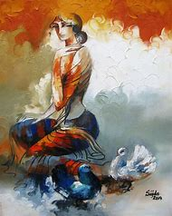 Abstract Figurative Art Paintings
