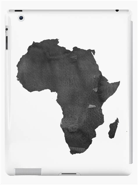 """Shop unique custom made canv. """"Africa Map Print African Map Africa Wall Art Watercolor ..."""