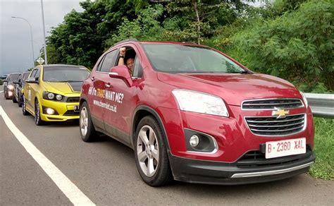 Modifikasi Chevrolet Trax by Komunitas Chevrolet Jajal Touring Pakai Chevrolet Trax