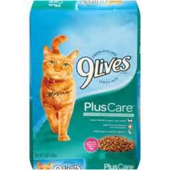 9 lives cat food 9lives plus care cat food 12 pound walmart
