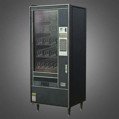 vending machine pbr game ready  asset cgtrader