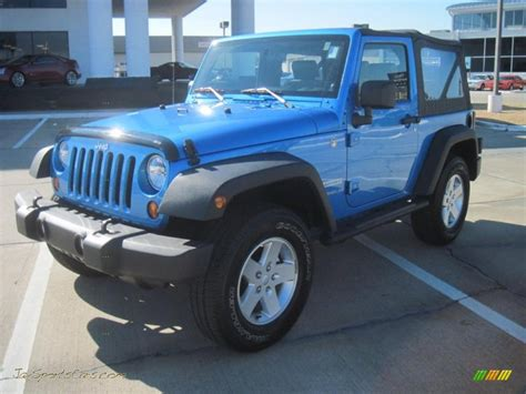 jeep surf 2010 jeep wrangler sport 4x4 in surf blue pearl 105799