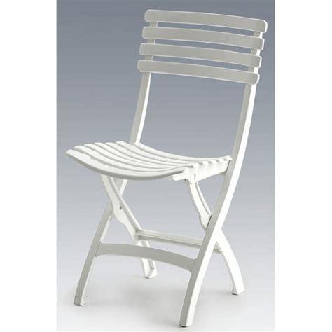 chaise pliante blanche chaise pliante square blanc