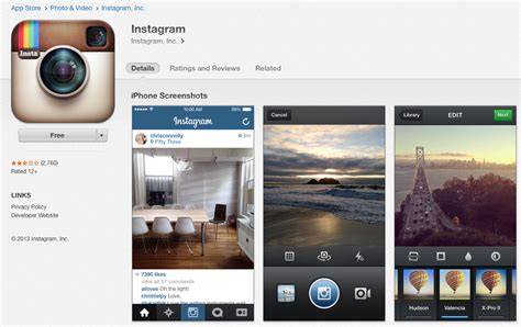 instagram app for iphone instagram 4 2 6 released for iphone and ipod touch