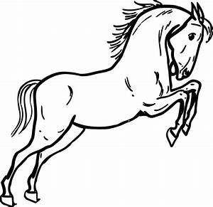 Horse Clipart Black And White | Clipart Panda - Free ...