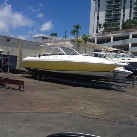 377 Intrepid Boats For Sale by 2002 Intrepid 377 Walkaround Power Boat For Sale Www