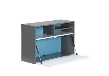 bureau rabatable bureau rabattable with table pliante fixe au mur