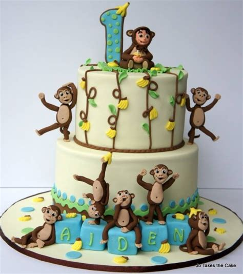 monkey cakes toppers cake    max