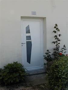 porte d39entree With porte d entrée alu avec meuble salle de bain fabrication allemande