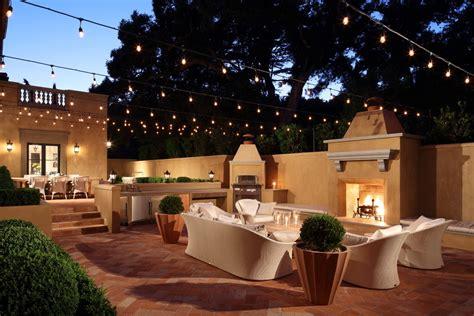 sensational mediterranean patio designs youll fall  love