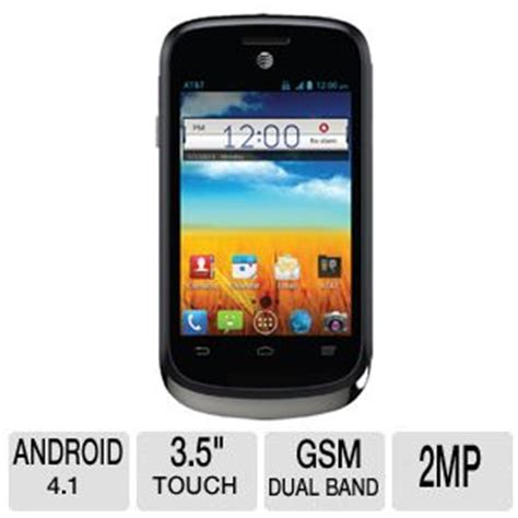 at t no contract phones at t go phone avail 2 smartphone android 4 1 os 3 5