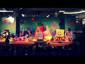 Spongebob squarepants LIVE SHOW at Tunjungan Plaza ...