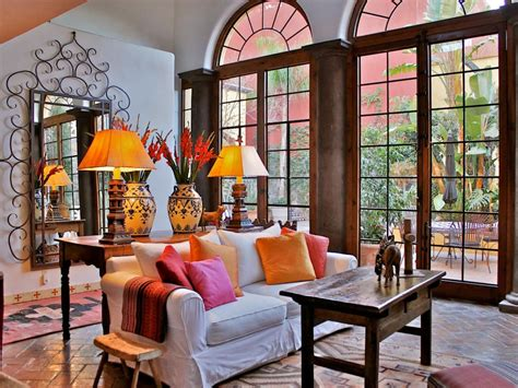 spanish inspired rooms interior design styles