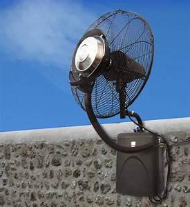 Brumisateur De Jardin : profiter de son jardin avec le ventilateur brumisateur ~ Edinachiropracticcenter.com Idées de Décoration