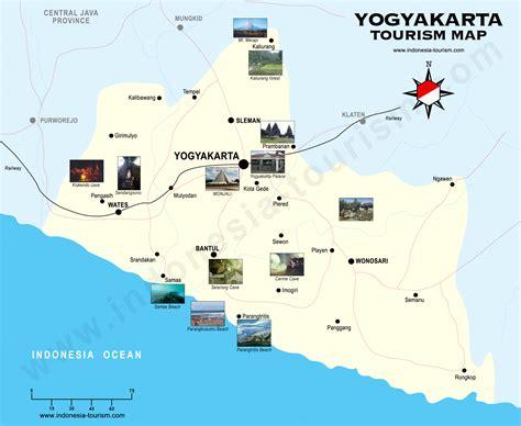 Jogjakarta Map
