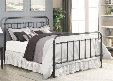 Livingston Dark Bronze Queen Metal Bed From Coaster