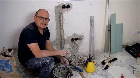 renovierung vom wohnzimmer kabelkanal im mauerwerk w 228 nde gl 228 tten