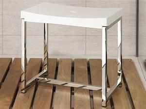 Badhocker Für Dusche : badhocker duschhocker design edelstahl sitz pu wei ~ Michelbontemps.com Haus und Dekorationen
