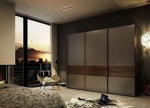 Bedroom Timber Modern Sliding Doors' Wardrobe — SMITH