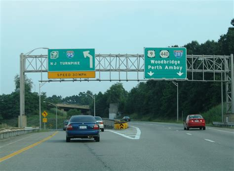on garden state parkway south garden state parkway south newark to woodbridge