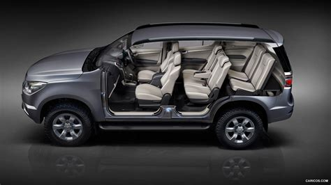 chevrolet trailblazer  row seating hd