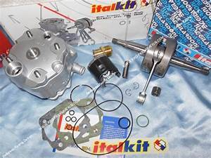 Pack Italkit Racing 90cc  U00d850mm Mono Segment  With
