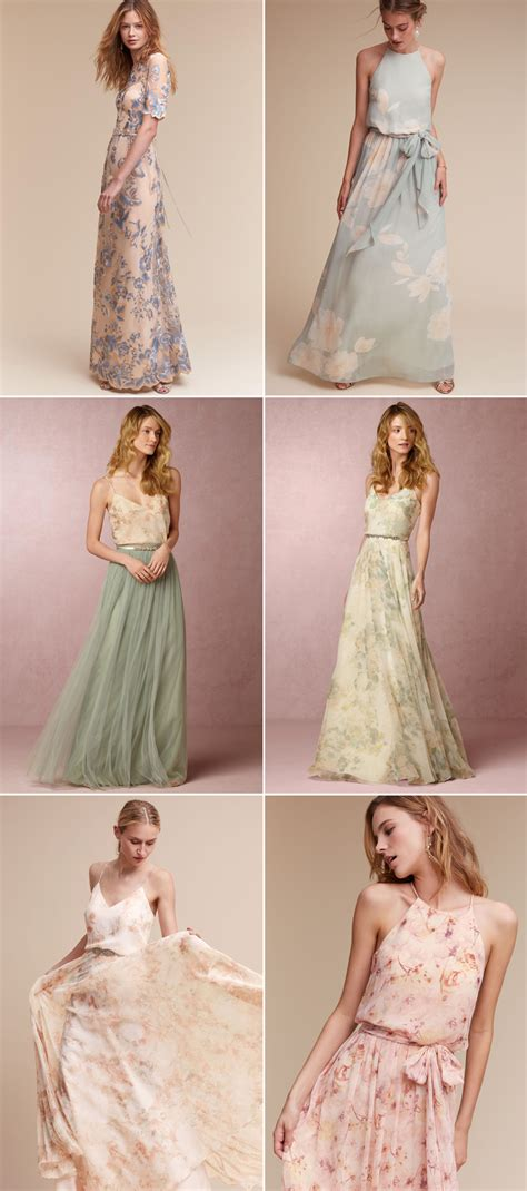 Love Blooms Romantic Floral Bridesmaid Dresses Your Girls
