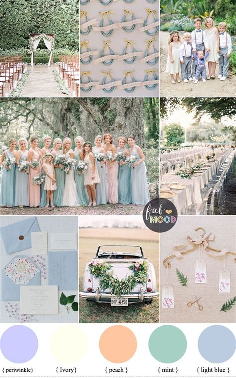 pastel wedding colors best 25 pastel wedding theme ideas on pastel
