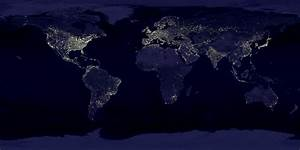NASA Visible Earth: Earth's City Lights