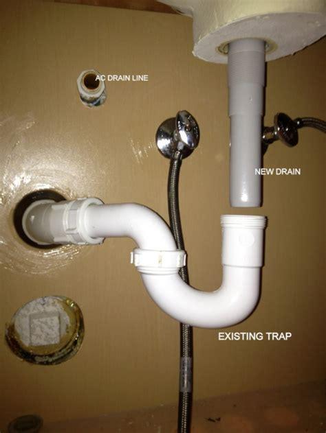 sink drain  tailpiece plumbing diy