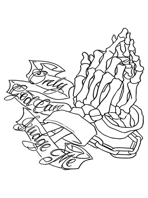 Only God Can Judge Me Praying Hands Window Decal Stricker