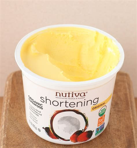 what is shortening learning to eat allergy free nutiva shortening product review