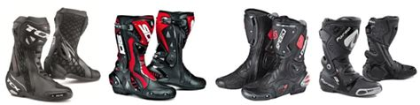 best motorcycle track boots ultimate guide to motorcycle boots types features