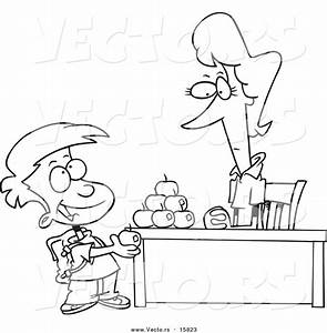 Boy Talking to Teacher Clipart (21+)