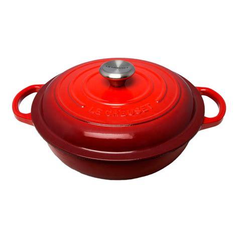 Gusseisen Topf Le Creuset by Signature Cast Iron Stew Pot 22cm Cerise Le Creuset