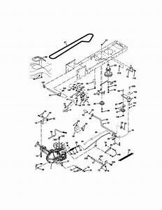 35 Craftsman Lt1000 Drive Belt Diagram
