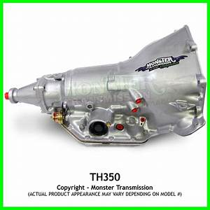 Turbo 350 Th350 Transmission Mild   6 U0026quot  Tail  Rebuilt Th350