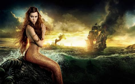 pirates of the caribbean beautiful mermaid desktop wallpaper