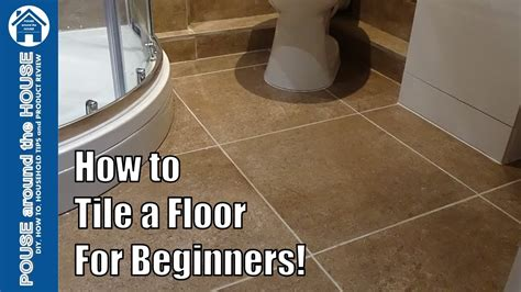 Bathroom Floor Tile Guide by How To Tile A Bathroom Shower Floor Beginners Guide Ti