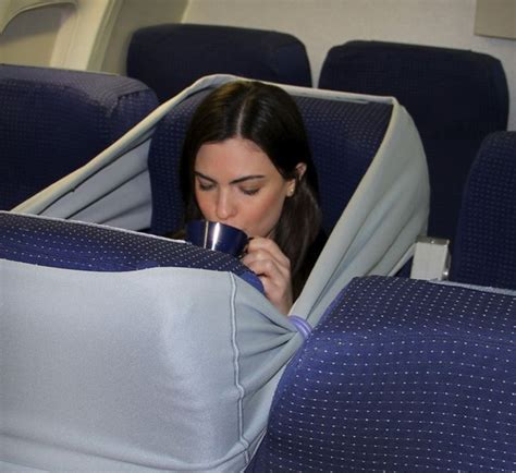 Baby Flight Hammock by Is This The Way To Find Privacy On Economy Flights Citylab