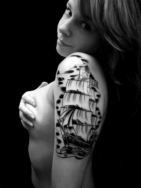 pirate tattoo half sleeve - Google Search | Tattoos for women half sleeve, Sleeve tattoos, Tattoos