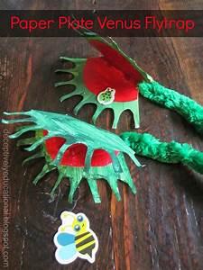 Paper Plate Venus Flytrap  Relentlessly Fun  Deceptively