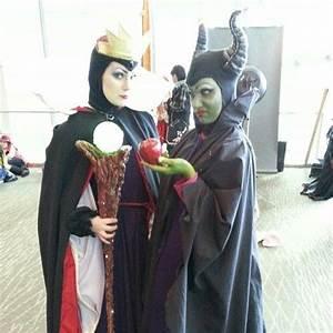 Disney villains, Seven dwarfs and Maleficent on Pinterest