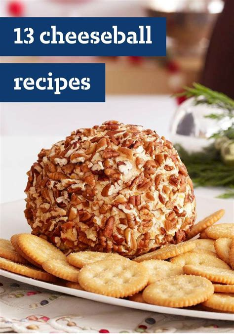 13 cheeseball recipes cheeseballs are one of the easiest cold appetizers to prepare and are