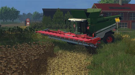 geringhoff maize header   mod farming simulator