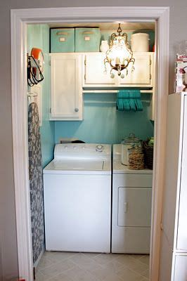 17 best ideas about small laundry closet on