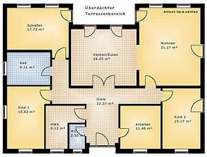 Atrium Bungalow Grundrisse : bungalow mit atrium 158 11 einfamilienhaus neubau massivbau stein auf stein ~ Bigdaddyawards.com Haus und Dekorationen